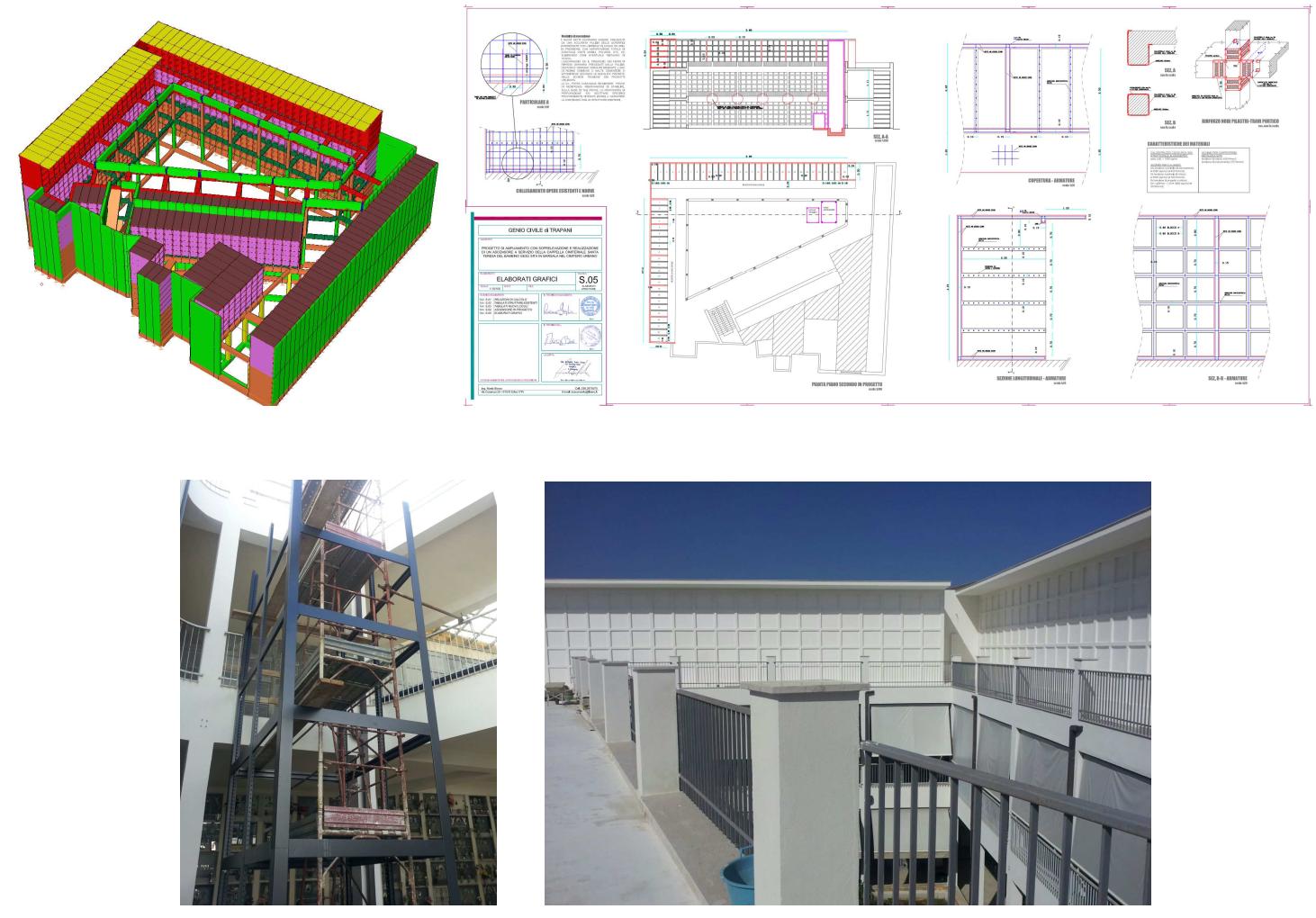Calcoli strutturali portfolio for Progettazione casa generatore